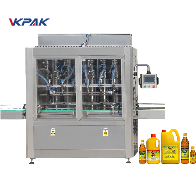 活塞式自動液體灌裝機